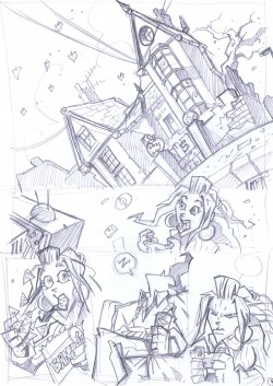 Pencils for CANDLEMAN the Wishing Well